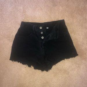 j galt black shorts